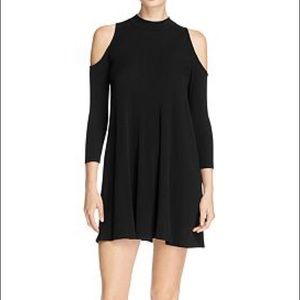 Bloomingdales Ribbed Cold Shoulder Dress